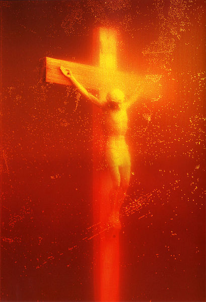 Andres Serrano's infamous pee-themed photo