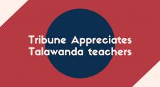 Tribune Appreciates Talawanda Teachers