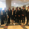 THS Mock Trial Competes at Districts